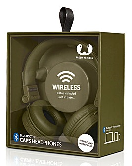 Fresh n Rebel Army Caps Headphones