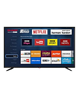 Sharp 49in 4K UHD Smart Freeview TV