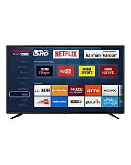 Sharp 49in 4K UHD Smart TV + Install