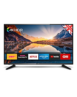 Cello C43SFS4K 43in Smart 4K UHD TV