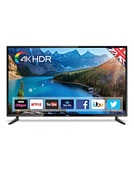 Cello 55in Smart 4K UHD TV + Ins