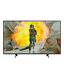 Panasonic 65in Smart 4K HDR TV + Ins