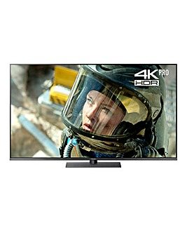 Panasonic 55in Smart 4K Pro HDR TV + Ins