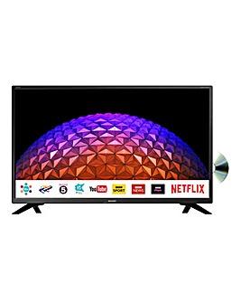 Sharp 32in HD Ready Smart TV Combi