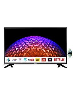 Sharp 32in HD Smart TV Combi + Install