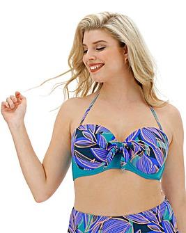 Underwired Tie Detail Bikini Top