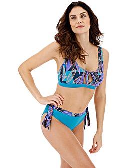 Tie Front Detail Bikini Set