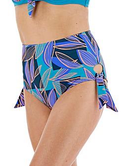 High Waist Tie Side Bikini Brief