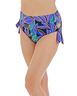 High Waist Tie Side Bikini Brief