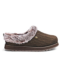 Skechers Ice Angel Knitted Mule Slippers