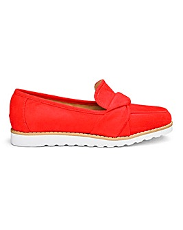 Knotted Vamp Loafers EEE Fit