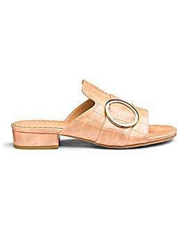 Flexi Sole Mule Sandals EEE Fit