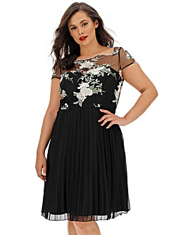 Chi Chi London Embroidered Dress