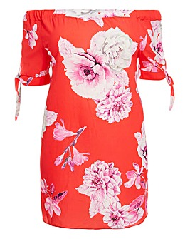 Quiz Floral Print Tunic Dress
