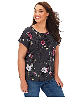 Oasis Trailing Floral Sub Tee