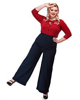 Collectif Kiki High Waisted Jeans