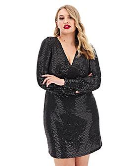 Vero Moda Long Sleeve Short Dress