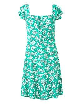 Oasis Ditsy Skater Dress