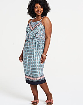 Oasis Square Neck Slip Dress