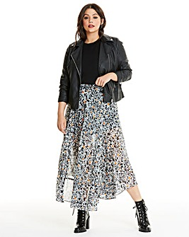 Religion Joyus Printed Maxi Skirt