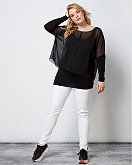 Live Unlimited 2 in 1 studded tunic