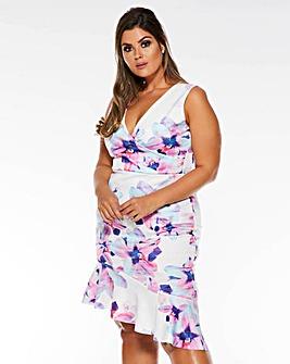 Quiz Bodycon Floral Dress