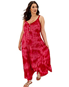 Band of Gypsies Tiered Maxi Dress