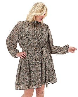 Vero Moda Safari Print Swing Dress