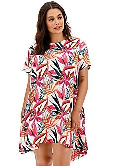 AX Paris Tropical Smock Dress