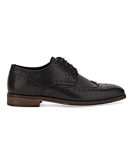 Joe Browns Saffiano Brogue Wide Fit