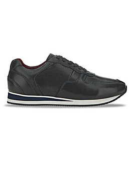 Joe Browns Leather Runner Trainer Wide