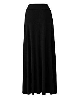 Petite Stretch Jersey Maxi Skirt
