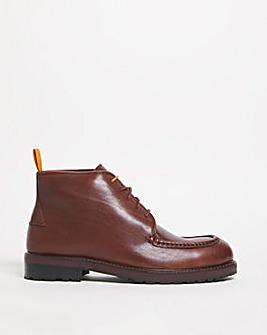 Joe Browns Leather Apron Seam Boot
