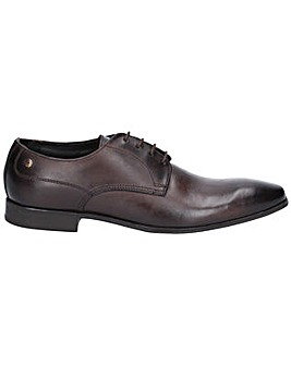Base London Tyne Burnished Derby Shoe