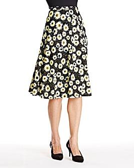 JOANNA HOPE Daisy Textured Jersey Skirt