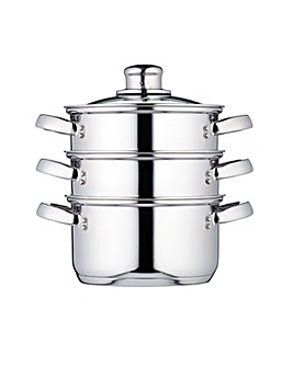 KitchenCraft 3 Tier Steamer 16cm
