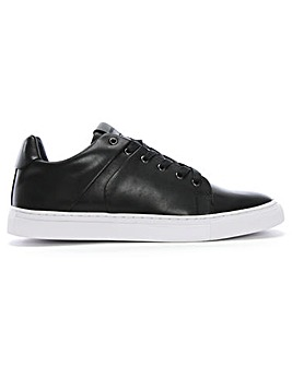 Daniel Linfold Leather Lace Up Trainers