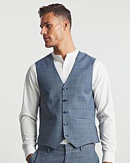 Barry Blue Check Waistcoat