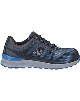 Skechers Workwear Bulklin Lace Up Safety Shoe