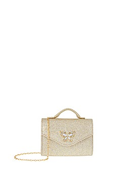 Monsoon Mia Butterfly Glitter Bag