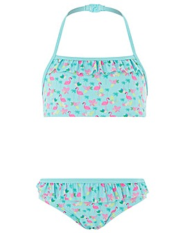 Accessorize Fiona Flamingo Bikini