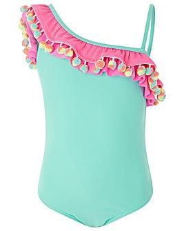 Accessorize Palermo Pom Pom Swimsuit