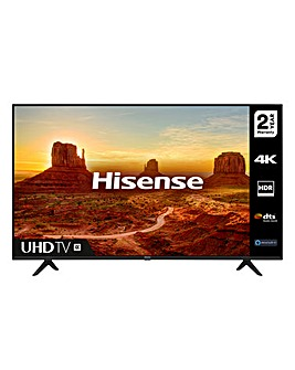 "Hisense 65A7100FTUK 65"" 4K HDR Ultra HD LED Smart TV"