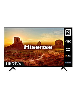 "Hisense 50A7100FTUK 50"" 4K HDR Ultra HD LED Smart TV"