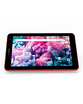 ENTITY Verso Mini 7in Android 10 GO Tablet Red