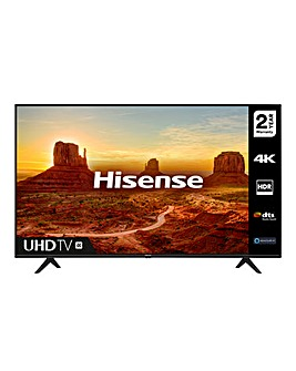 "Hisense 43A7100FTUK 43"" 4K HDR Ultra HD LED Smart TV"