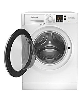 HOTPOINT NSWM742UWUKN Washing Machine + INSTALLATION
