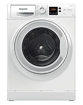 HOTPOINT NSWM 1043C W UK N 10KG 1400 Spin Washing Machine WHITE