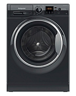 HOTPOINT NSWM1043CBSUKN 10KG 1400 Spin Washing Machine BLACK