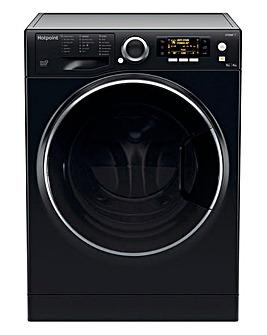 HOTPOINT RD966JKDUKN Washer-Dryer Black